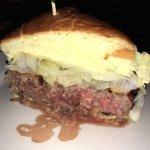 The BEEF Steak Burger
