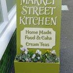 Advertising Market Street Kitchen-style