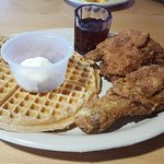 can you say chicken and waffles?