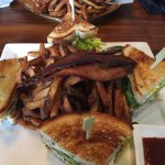 Club Sandwich - HINT - this is enough for two.