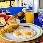 El desayuna mas completo.