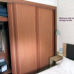 Suite - Bedroom showing only storage facility.
