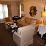 lounge in suite