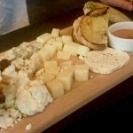 Cheese plate to share.