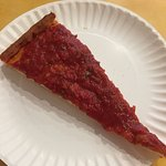Tomato Pie from Joes Pizza