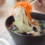 Brown Rice Vermicelli Miso Soup