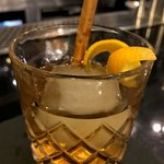 Old Fashioned infused with cinnamon - Good Godfrey's Bar and Lounge