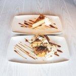 Creme Brulee Cheesecake & Rockin' Banana Burrito