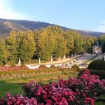 Gardens and mountains
