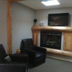 Great sitting area inside room