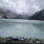 Mattmark Lake, walk around it in a couple of hours, take the Post bus to the start