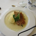 Red Snapper served with Mash