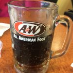 Root Beer in glass mug