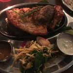 Delicious tandoori platter!