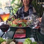 Our wonderful lunch at les Pilotis