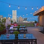 Rooftop Terrace located on the 8th Floor. Beautiful San Francisco Skyline view!