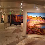 Modern art and classic in the gallery