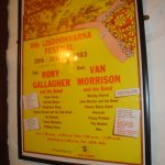 Cool old concert poster