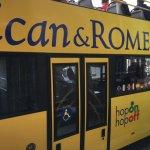 Foto de Roma Cristiana Hop On Hop Off Bus