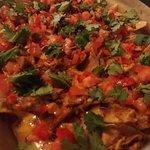 BBQ Chicken Pizza Nachos