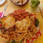 Porção mista de frutos do mar