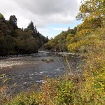 Killiecrankie - River Garry, looking back to Soldier's Leap. October 2017