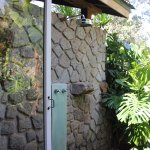 Private outdoor shower was lovely!