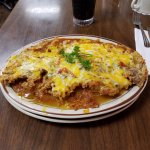 Chicken Fried Steak & Eggs with hashbrowns