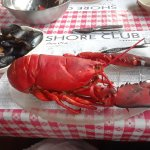 """The """"biggest"""" lobster on the menu."""