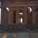 El bello Templo de la Concordia, para admirarlo!!!