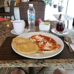 pancakes and rancheros