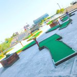 Zapponians are encouraged to take time out for teambuilding, why not  miniature golf?