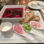 Best borcht I ever had (hotel's restaurant)