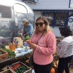 Little market on the pier