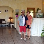 Eric and Valérie, the owners of Le Regence Hotel who made our stay unforgettable!