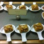 Executive club dessert servings