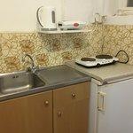 Kitchen of Rm  3 Tsambika  Villa, Lindos