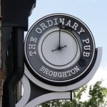 The Ordinary Pub is a neighborhood basement pub with reimagined pub fare