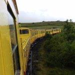 Il ne s'appelle pas le Train Jaune pour rien.