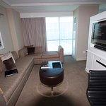 HRH Suite lounge area