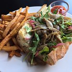 The amazing duck confit sandwich