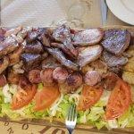 Tabla grande carne