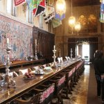 Medieval style banquet hall for casual dinners