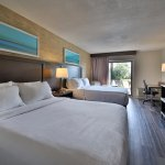 Newly renovated Two Queen Beds Riverview room