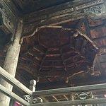 Unique Fengshui ceiling, wood construction etc