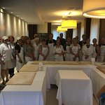 One of the additional activities - fresh Gnocchi making class