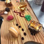Our Dessert Tasting board - you decide your favourite!