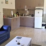 kitchenette of self contained cottage