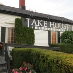 The Lake House is off the QEW at Vineland. FABULOUS FOOD & VIEWS