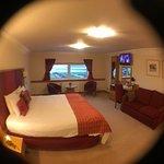 huge sized double room